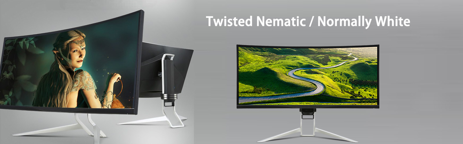 Twisted Nematic normally white BANNER
