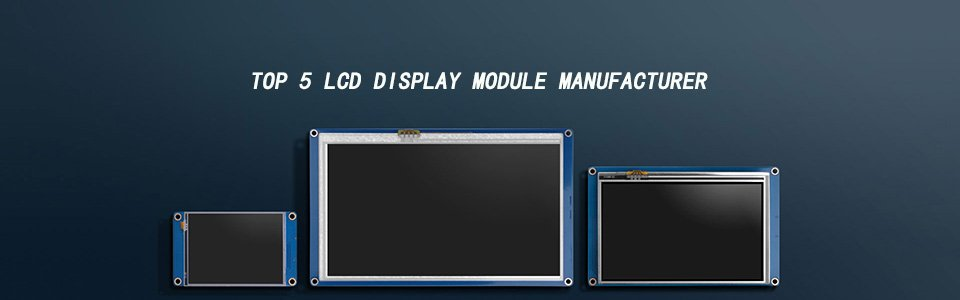 TOP 5 LCD Display Module Manufacturer
